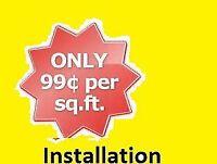 FLooring installation/Services