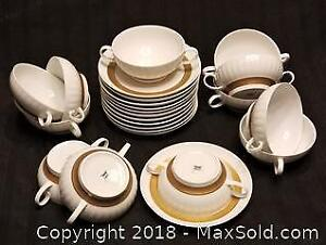 Thomas (Rosenthal) Soup Cups & Saucers
