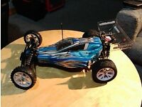 Ansmann Mad Monkey 2wd programmable RC car buggy. 100% ready when u open box. LOADS of spares. XMAS!