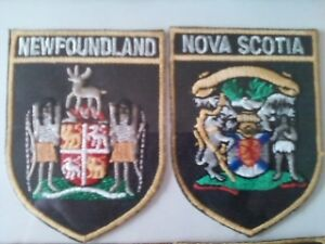 Iron On Provincial Coat of Arms Patches