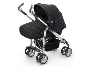 SILVER CROSS JET SPORT 3D BLACK SILVER CROSS PRAM JET SPORT NEW EX-DISPLAY