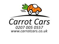 6 seater/MPV PCO reg-vehicle, owner drivers - 100% cash work.
