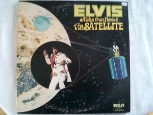 ELVIS Aloha from Hawaii via Satellite LP Album