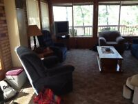 Lakefront cabin for sale at Candle Lake