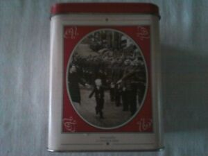 Metal Tea Canister, Canada Remembers 1945-1995