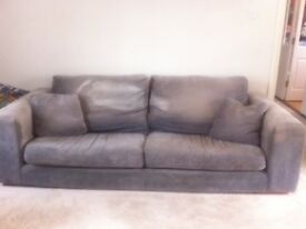 Furniture Village Aylesbury furniture village jackson range casual back sofa and snuggle seat