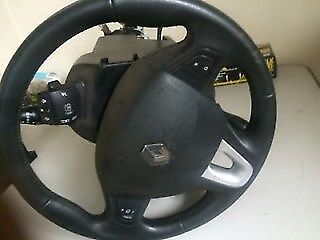 renault megan 2009 steering wheel with air bag for sale call for any info
