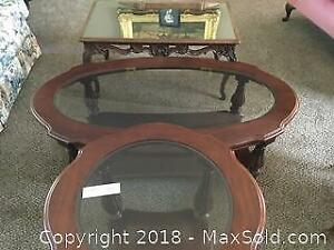 Coffee Tables and Side Table A