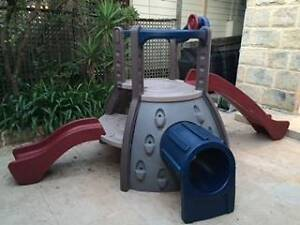 Little Tikes Outdoor Play Equipment - Double Decker Super Slide Seaforth Manly Area Preview