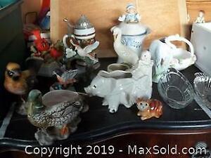 Stein Ceramic Figurines A
