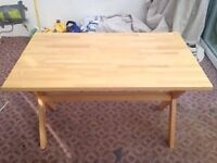 Aspace children's solid wood desk.