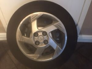 4 Tires on Rims/Wheel covers