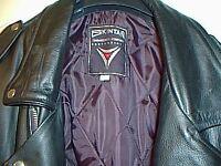 motor cycle leather jacket
