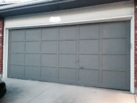 Wood Garage Door 16'X7'