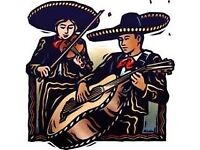 Mariachi band taking bookings for events, parties and weddings