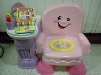 Fisher Price Laugh & Learn Pink Musical Chair