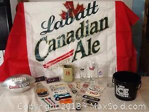 Large Lot Of Beer Collectibles