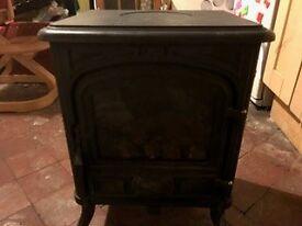 Franco Belge Woodburning Effect Cast iron Gas Stove