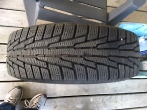 Lightly Used Snow Tires and Rims