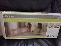 Lindam Easy Fit Safety Toddler Bed Rail Pink Girls Bed Guard Safe & Secure