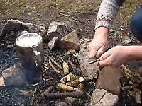 Bushcraft and survival course