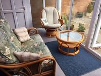 Lovely conservatory furniture vgc