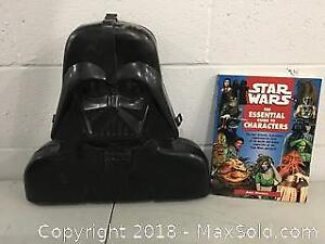 VINTAGE Star Wars Action Figure Toy Box - Darth Vader