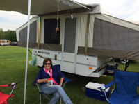 2010 Rockwood pop up camper for sale
