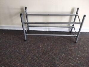 ADJUSTABLE and STACK SHOE RACKS