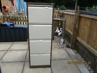 CLEAN FILE CABINET WITH KEY