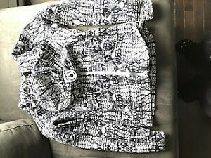 Lulu lemon special edition sweater black and white