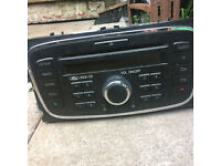 ford galaxy - mondeo - focus mk3 front cd player for sale call parts thanks