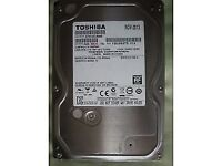Toshiba 500GB HDD for desktop, SATA