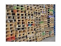 wooden pallets £3 per pallet can deliver locally