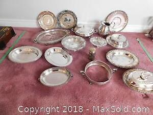 Silverplate Serving Dishes A