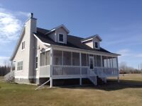 One of a Kind..... Lakefront- Open Concept Home on Hecla Island
