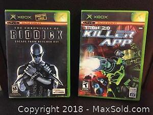 Lot of 2 Video Games for Xbox