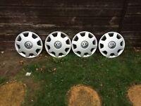 "4 Volkswagen 14"" 8 Spoke Rims"