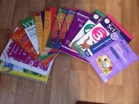 Selection of varied subject text books (total 12) for 7-9 year olds - ideal for home or school use.