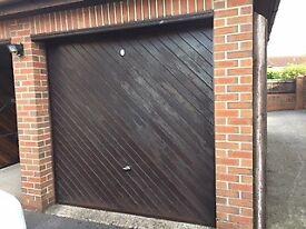 2 X Cardale Cedar electric Garage doors