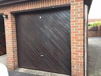 2 X Cardale Cedar electric Garage doors