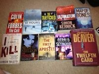Bundle of 10 Crime/Drama Books