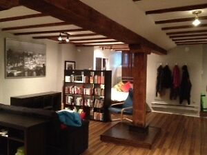 Large studio downtown, in Shaughnessy Village