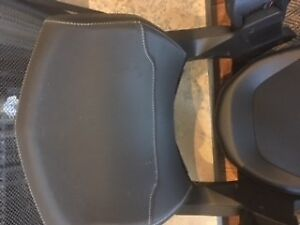 Ski-doo double seat and back rest combo