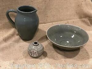 Celadon Glazed Pieces