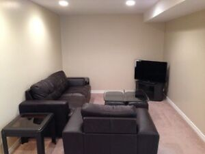 All included ! 2 bedroom basement suite fully furnished