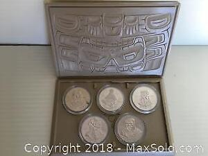 Indian Heritage Series 1 Coin set