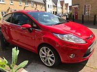 Ford FiestaTitanium 2011Low mileage 34000 petrol