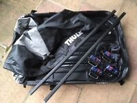 Thule Foldaway Roofbox and mounting kit: 1033 (Volvo V40/S40)