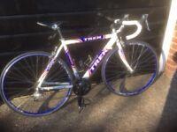 Trek road bicycle